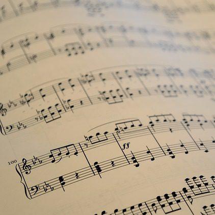 Musiktheorie Notenblatt