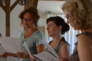 Singen im Chor Bobingen Chorwochenende