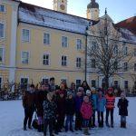 Gruppenbild auf dem Chorwochenende Roggenburg