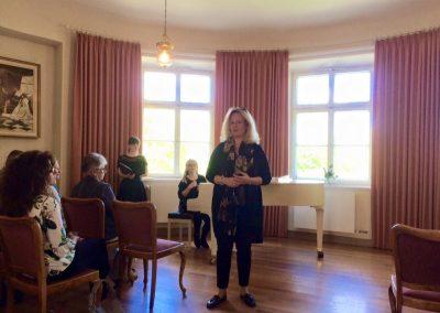 Stefanie Fersch auf Singfrosch Präsentation