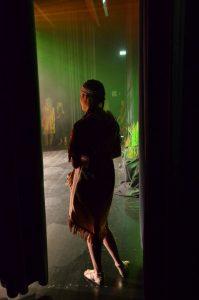 Warten auf den Auftritt - Wakatanka hinter den Kulissen