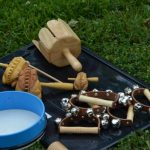 Instrumente Rahmenprogramm Trommeln Kinder Wakatanka
