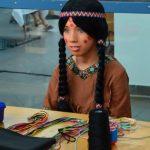 Kleine Indianerin Rahmenprogramm Basteln Kinder Wakatanka