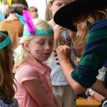 Rahmenprogramm Kinderschminken Wakatanka