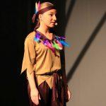 Wakatanka Aufführung Indinaerin auf Bühne
