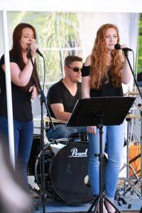 Jugendband Piano&Voice beim Auftritt auf dem Sommerfest 2017