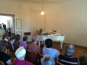 Auftritt Klavier mit Publikum