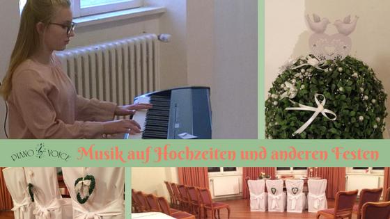 Musik auf Hochzeiten und anderen Festen