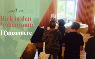 Chorprobe in Bobingen: Il Canzoniere