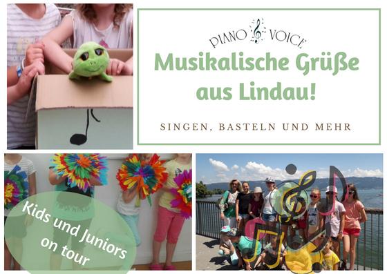 Kinderchöre Kids und Juniors fahren nach Lindau