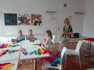 Kinderchor Fahrt Lindau 2018 Basteln 2