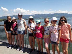 Kinderchor Fahrt Lindau 2018 Gruppenbild