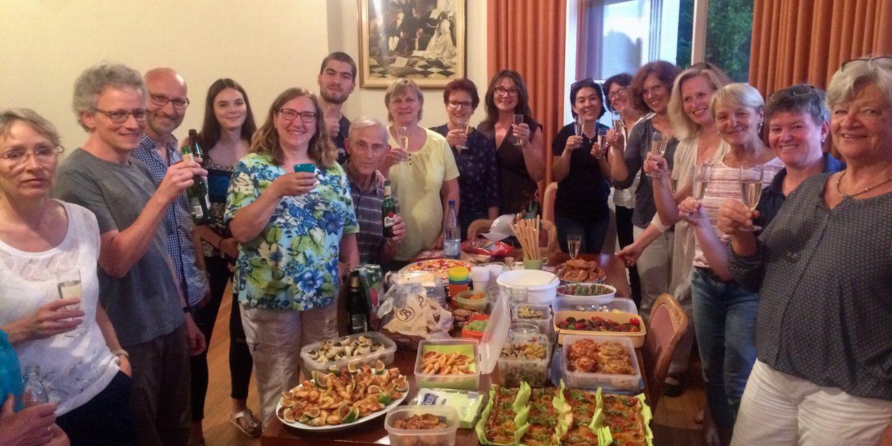 Il Canzoniere: Mit Sekt, Selters und Buffet kurz vor der Sommerpause