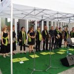 Der Chor Il Canzoniere beim Konzert im Lesepark 2018 VII