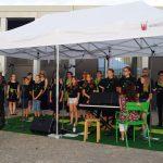 Der Chor Il Canzoniere und die Kinder- und Jugendchöre beim Konzert im Lesepark 2018 VII