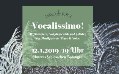 Januarkonzert: Vocalissimo!