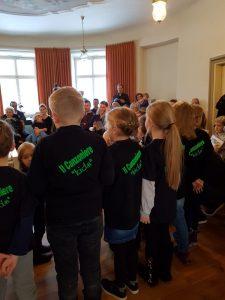 Adventskonzert Auftritt Chor Singfrösche