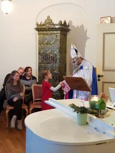 Nikolaus auf Adventkonzert