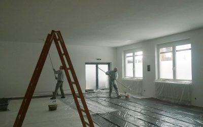 Unsere neuen Räume bekommen Farbe!
