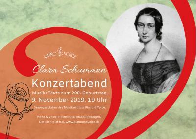 Clara Konzertabend