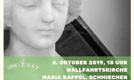 Marienkonzert am 6.10.2019 in Maria Kappel, Schmiechen