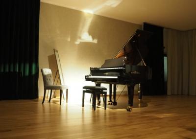 Musikschule Saal Abend