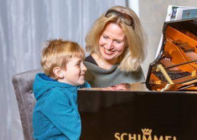 Klavierunterricht Kinder Spaß