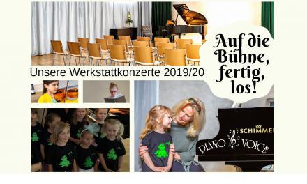 Auf die Bühne, fertig, los – Werkstattkonzerte 2019/20