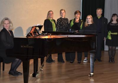Clara Schumann Abend Solisten und Stefanie 2