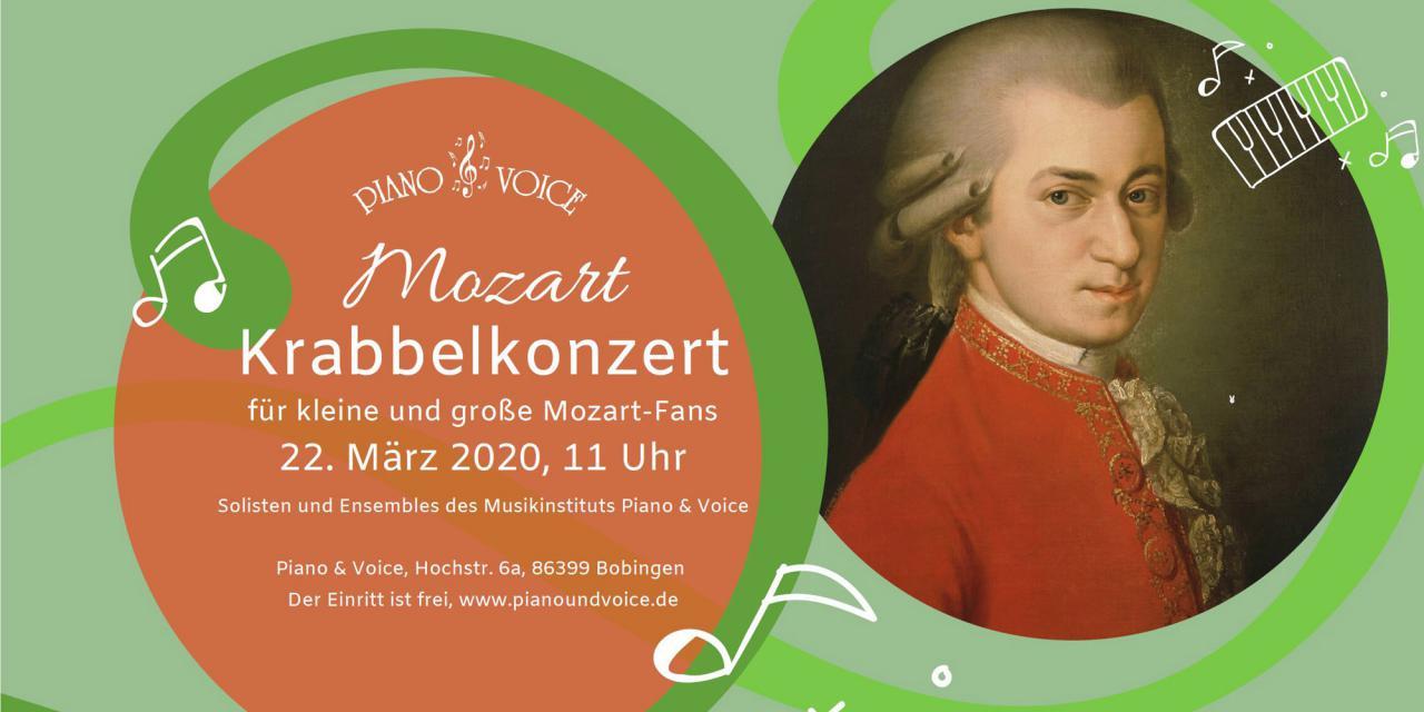 22. März 2020 um 11 Uhr Mozart-Krabbelkonzert