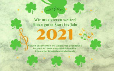 Musikunterricht Online im Januar 2020